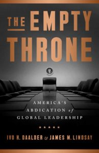 The Empty Throne: America's Abdication of Global Leadership @ First Congregational Church of Old Lyme | Old Lyme | Connecticut | United States